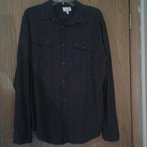 Mens Somoma flannel shirt
